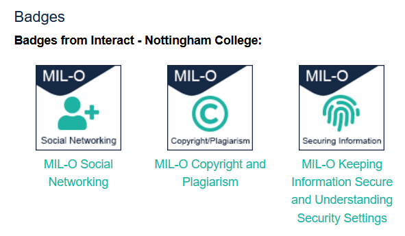 Interact Badges